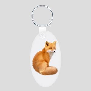 animals fox Keychains