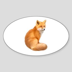 animals fox Sticker