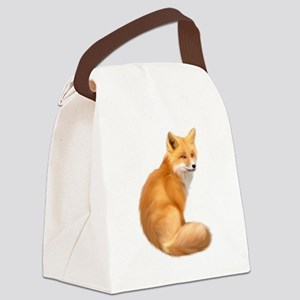 animals fox Canvas Lunch Bag