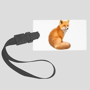 animals fox Luggage Tag