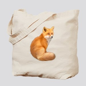 animals fox Tote Bag
