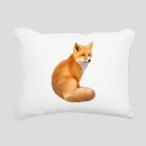 animals fox Rectangular Canvas Pillow