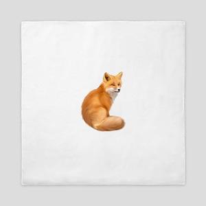animals fox Queen Duvet