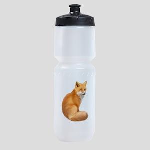 animals fox Sports Bottle