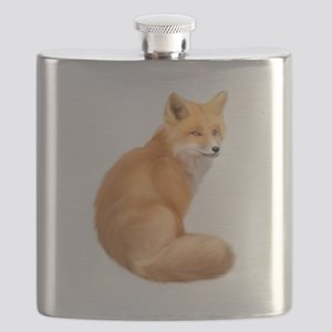 animals fox Flask