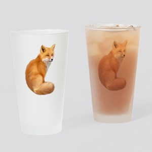 animals fox Drinking Glass