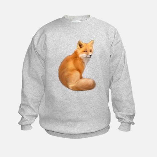 animals fox Sweatshirt