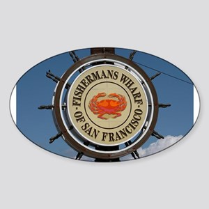 fishermans wharf Sticker