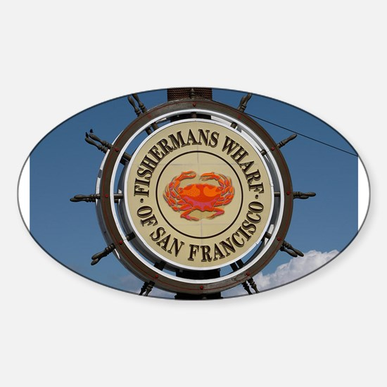 fishermans wharf Decal