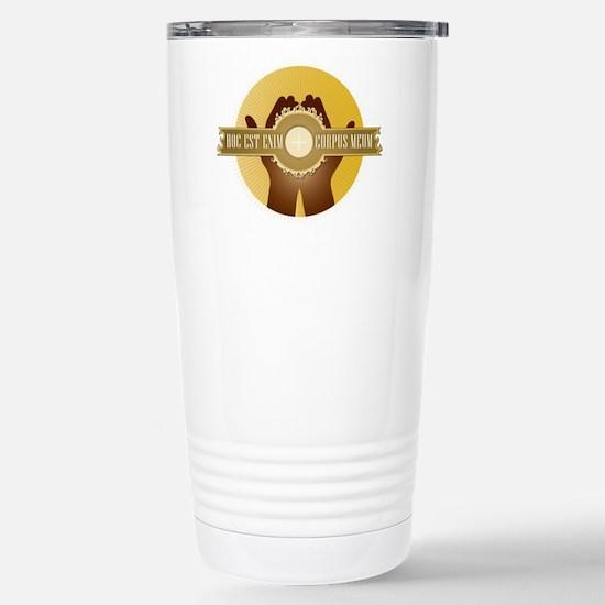 Corpus Meum Travel Mug