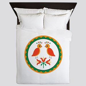 Double Distlefink Queen Duvet