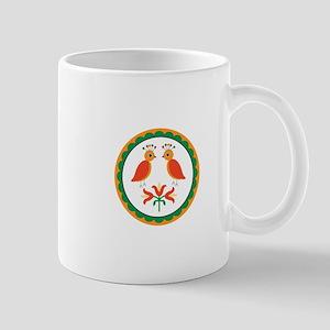 Double Distlefink Mugs