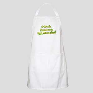 Numbers, Not Miracles BBQ Apron