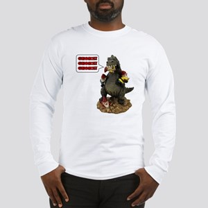 Godzilla Eating RA Long Sleeve T-Shirt