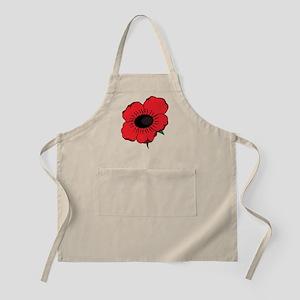 Poppy Flower Apron