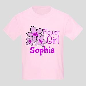 efa1d9267e7 Customized Flower Girl Kids Light T-Shirt