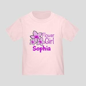 Customized Flower Girl Toddler T-Shirt