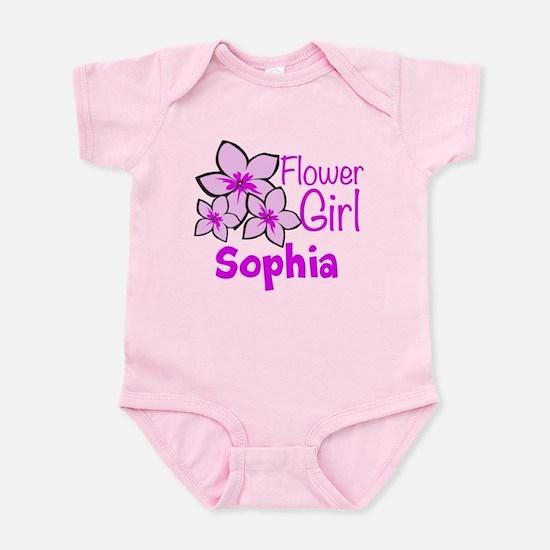 Customized Flower Girl Infant Bodysuit