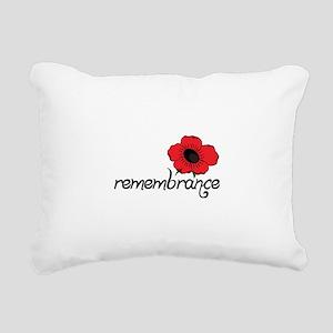 Remembrance Rectangular Canvas Pillow