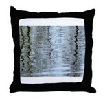 Reflections on the ice Throw Pillow