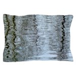 Reflections on the ice Pillow Case