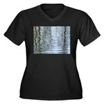 Reflections on the ice Plus Size T-Shirt