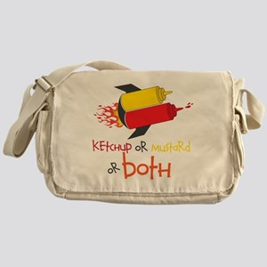 Ketchup Or Mustard or both Messenger Bag