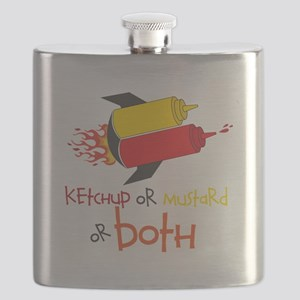 Ketchup Or Mustard or both Flask