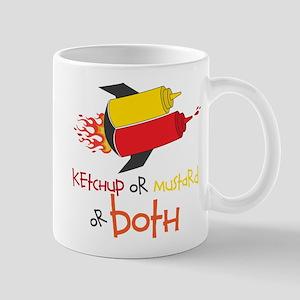 Ketchup Or Mustard or both Mugs