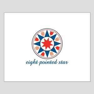 Eight Pointed Star Posters