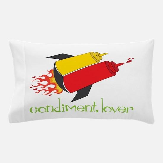 Condiment Lover Pillow Case