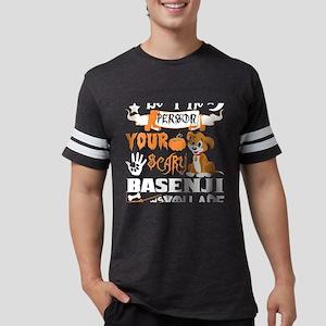 Be Person Scary Basenji Thinks You Hallowe T-Shirt