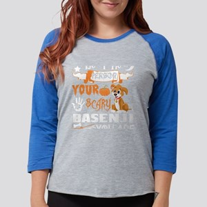 Be Person Scary Basenji Thinks Long Sleeve T-Shirt