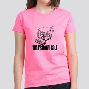 Cute Pink Golf Quote T-Shirt For Women