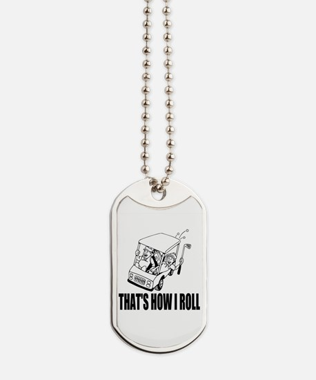 Funny Golf Quote Dog Tags
