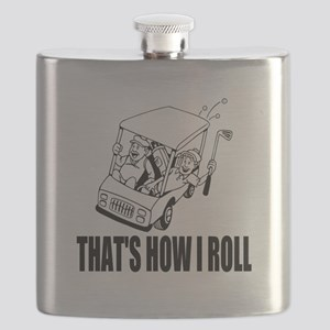 Funny Golf Quote Flask For Golfing Coach