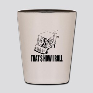 Funny Golf Quote Shot Glass
