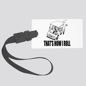 Funny Golf Quote Luggage Tag