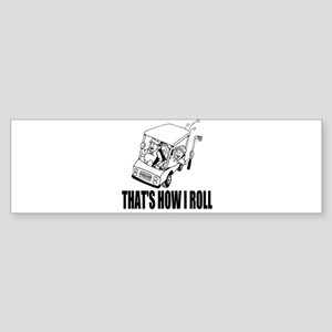 Funny Golf Quote Bumper Sticker