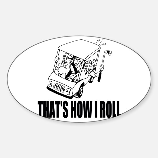 Funny Golf Quote Decal