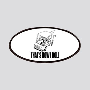 Funny Golf Quote Patches