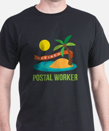 Retired Postal worker T-Shirt
