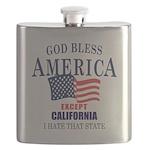 GOD Bless America Flask