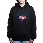 GOD Bless America Women's Hooded Sweatshirt