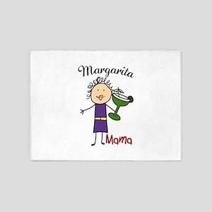 Margarita Mama 5'x7'Area Rug