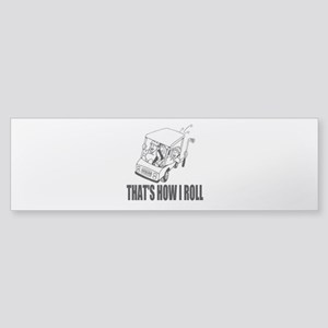 Funny Golf Quote Bumper Sticker