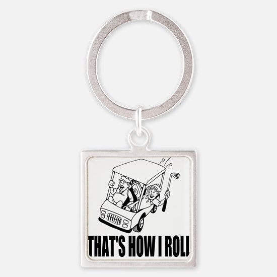 Funny Golf Quote Keychains