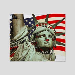 Liberty U.s.a. Throw Blanket