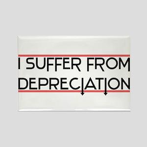 Depreciation Account Rectangle Magnet