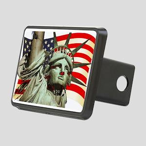 Liberty U.S.A. Rectangular Hitch Cover